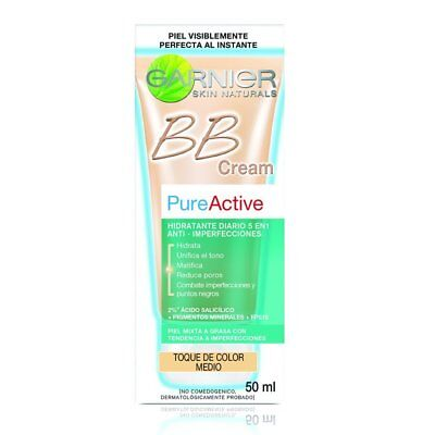 Pure Active BB Cream Medium for Blemished Skin 50ml