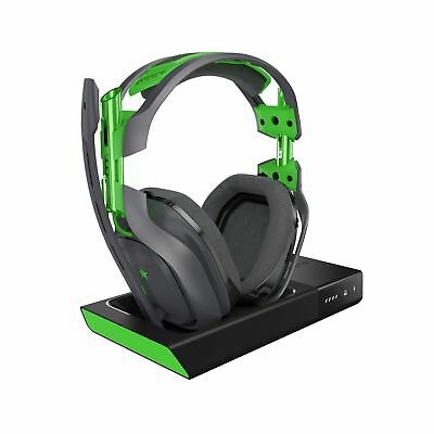 ASTRO Gaming A50 5GHz Wireless Dolby Gaming Headset Black/Green Xbox One + PC
