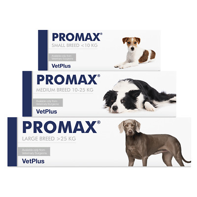 VetPlus PROMAX SYRINGE for Small, Medium & Large Breed Dogs - BEST PRICE!!
