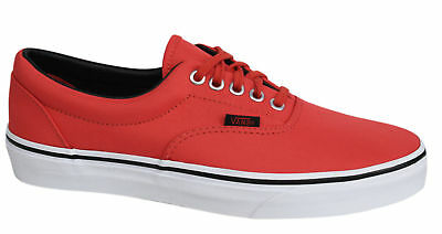 Vans Off The Wall Era Unisex MLX Cayenne Canvas Trainers Shoes - W3CEC5 - Red