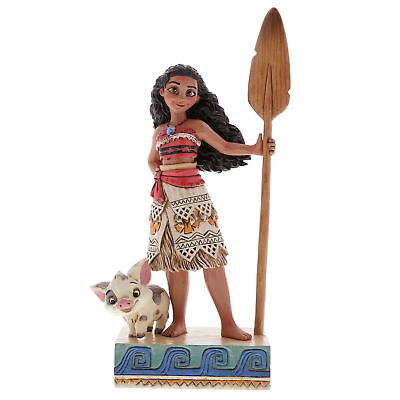 "ENESCO DISNEY Skulptur ""Prinzessin Moana - Find Your Own Way"" Jim Shore 4056754"