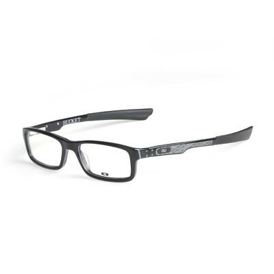 EYEGLASS FRAMES-OAKLEY BUCKET OX1060-0151 Polished Steel 51mm ...