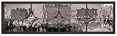 Bevel Stars & Waterglass Lead Glass  Window That you can install or hang
