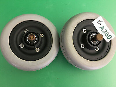 Invacare  Caster Wheels & Tires for Pronto Sure Step M51  ~set of 2~  #A360