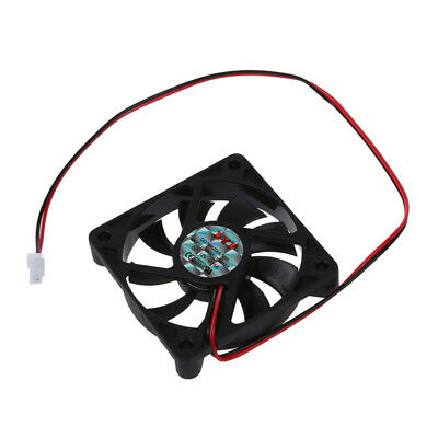 H1 Desktop PC Case DC 12V 0.16A 60mm 2 Pin Cooler Cooling Fan