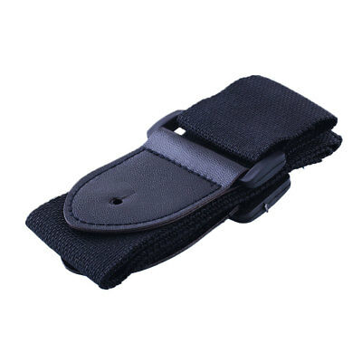 Black Adjustable Guitar Strap Belt for Electric Classic Acoustic Guitar Bass