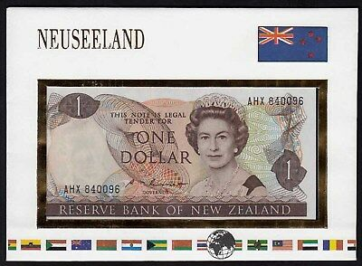 Neuseeland - New Zealand 1 Dollar 1981-92  UNC Pick 169b  (15565
