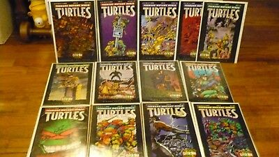TEENAGE MUTANT NINJA TURTLES CITY AT WAR #50-62 Complete VF/NM
