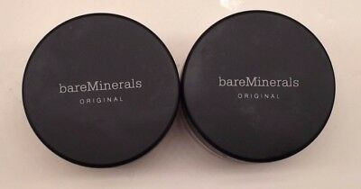 Bare Minerals Escentuals SPF 15 Foundation Fairly Medium C20 8g XL (PACK OF TWO)