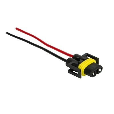 H11 H8 Female Adapter Harness Socket Wire Cord Connector for Headlight/Fog Light