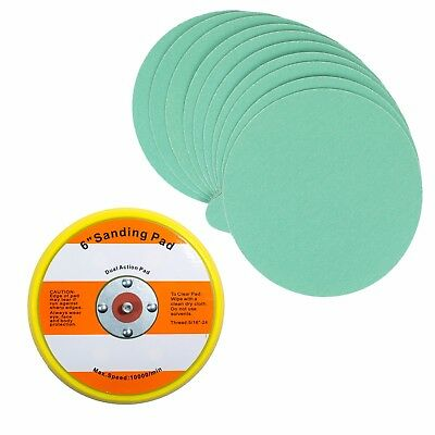 "6"" PSA Sanding Backup Pad with 10 pcs 150 grit PSA Sand Paper"