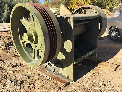 """Used Great Condition Jaw Rock Crusher 10"""" x 36"""" WCR 18"""