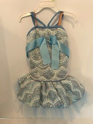Ballet tutu Pinocchio little blue fairy 5T