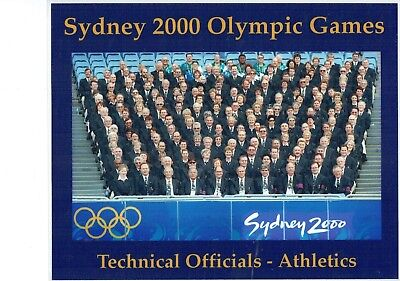 Sydney olympics 2000 Technical officials official photo  M19