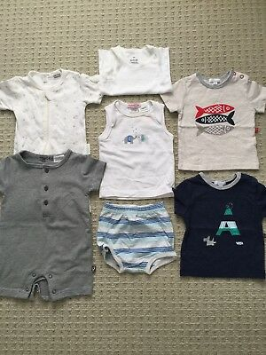 Pure Baby Papoose Precious Plum - Baby Boy's Bundle Organic Size 000 3-6 months