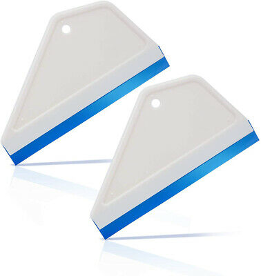 Water Blade Silicone Edge Squeegee for Auto Window Glass Tint Cleaning Wiper 6""