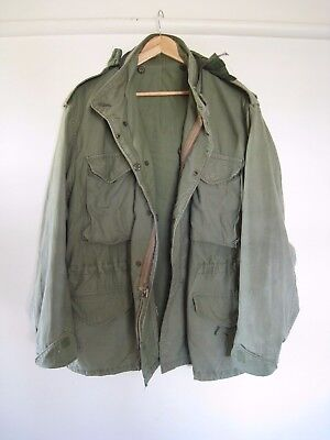 REDUCED!Vintage M 65 US Vietnam 1970's Field Jacket Winfield Large RegularSALE!!