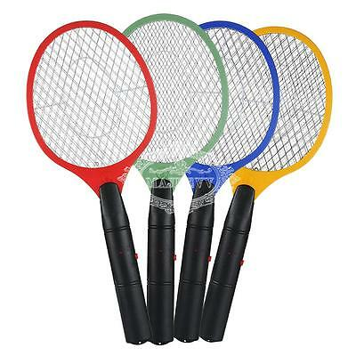 Battery Electronic Fly Swatter Mosquito Bug  Zapper Racket RANDOM COLOR