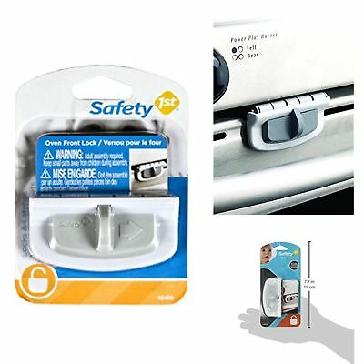 Safety 1st Oven Front Lock Child Baby Proof Heat Resistant Latch Home Kitchen