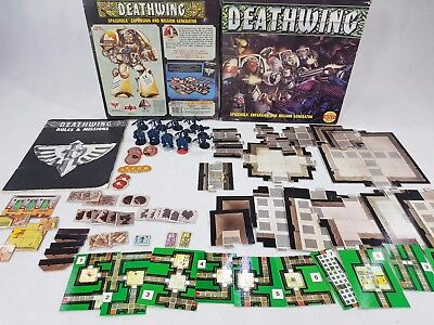 Deathwing Space Hulk Expansion; 100% complete, unpainted OOP [ENG,1990]