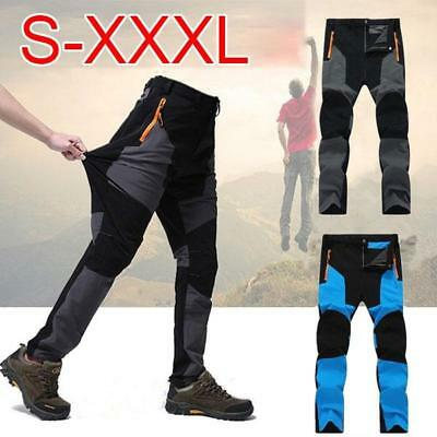 Mens Quick Dry Waterproof Thin Cycling Hiking Casual Pants Sports Gym Trousers