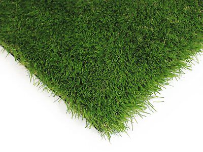 New Artificial Landscaping Grass Boston Green 40mm 13m² ships to NZ only