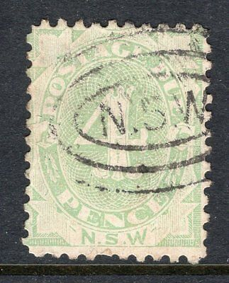 NSW 4d postage due perf 11 sg D5a unpriced in Gibbons see scans x2