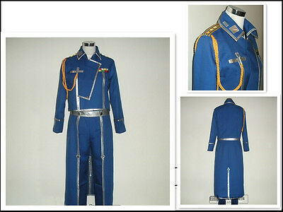 Fullmetal Alchemist Army Uniform Cosplay Costume Roy UK