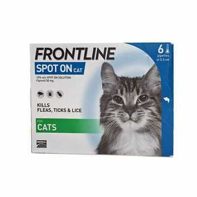 FRONTLINE SPOT ON CAT for Cats - 3 or 6 pipettes - BEST PRICE!!