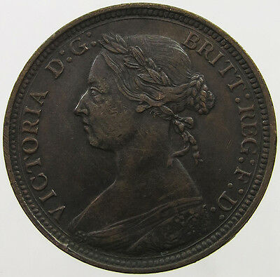 GREAT BRITAIN HALF PENNY 1860 TOP   #mb 023