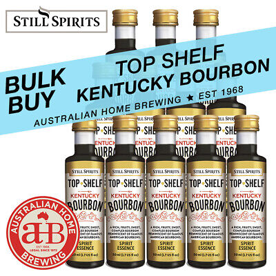 Still Spirits Top Shelf KENTUCKY BOURBON Essence -SELECT 3 4 10 24 36 50 PACKS