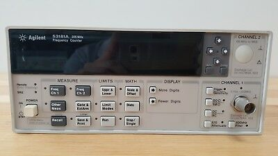 Agilent, Used / 53181A / Frequency Counter, 225MHz, Tested