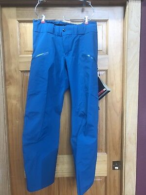 Arc'teryx Azetta Gore-Tex Pro Ski Snowboard Pant Women's Medium M Blue NEW