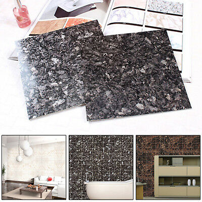 Marble Self Adhesive Wallpaper  Bathroom Kitchen Countertop Cabinet Wall Sticker
