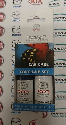 New genuine toyota touch go 2 navigation sat nav auris for Toyota paint touch up pen