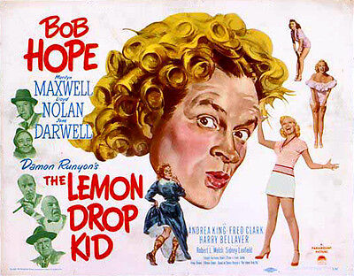 Bob Hope The Lemon Drop Kid   Fridge Magnet 70Mm X 40Mm