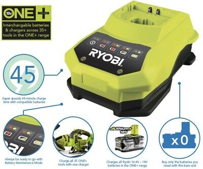 Ryobi BCL14181H ONE+ Fast Charger For All ONE+ Batteries, 18 V
