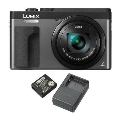 Panasonic DC-ZS70S Lumix 20.3 MP, 4K + Panasonic DMW-ZSTRV Battery & Charger