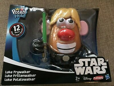 Star Wars Mr Potato Head Luke Frywalker (Skywalker). BRAND NEW.