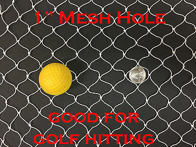 NEW 20Ft X 25Ft Sport Netting for Golf Hitting, Backstop, Hockey, La Crosse 258
