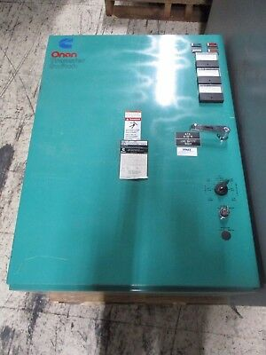 Onan Automatic Transfer Switch OT 225 225A 440/480V 50/60Hz 1Ph Used