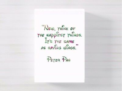 peter pan quote canvas wall art picture print a4a316x20 ready 2 hang