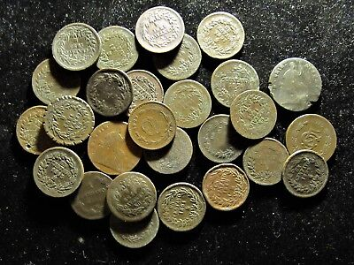27 Mexican Copper Coins....Mostly 1 Centavos