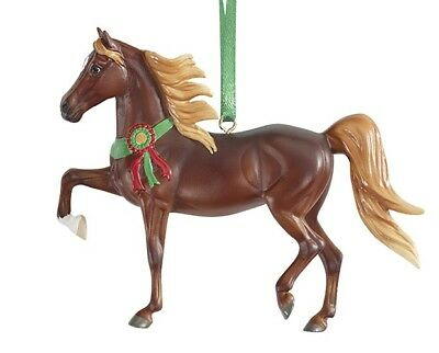 Breyer Horses 2017 Holiday Christmas Beautiful Breeds Ornament - Morgan #700518