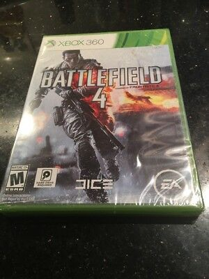Battlefield 4  (Xbox 360, 2013) Brand New Factory Sealed