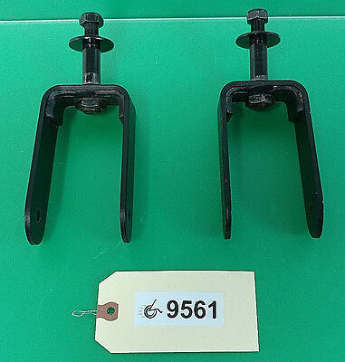 Rear Caster Forks for Pride Jazzy Select HD Power Wheelchair #9561