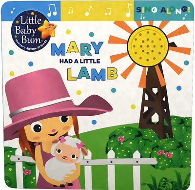 kids/baby sound book Mary had a little lamb by little baby bum NEW!!!