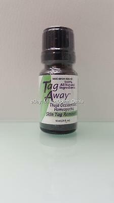 Tag Away Thuja Occidentalis Homeopathic Skin Tag Remover 100% Natural 10 mL