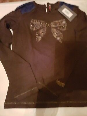 Catimini Brown girls top. Age 10years. New with tags