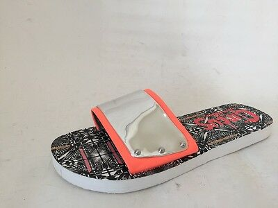 993f69dcd29b Circus by Sam Edelman Womens Madison Slide Sandals Silver Orange US 9 M New